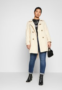 JUNAROSE - by VERO MODA - JRNEWTUKKA TRENCH COAT - Trenčkot - pebble - 1