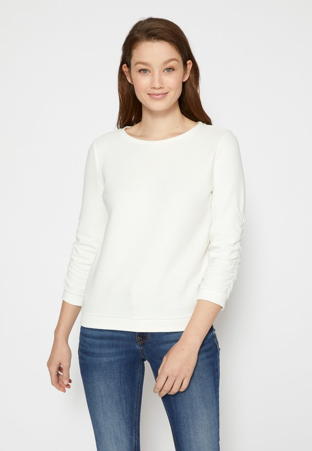 STRUCTURED - Sweater - off white