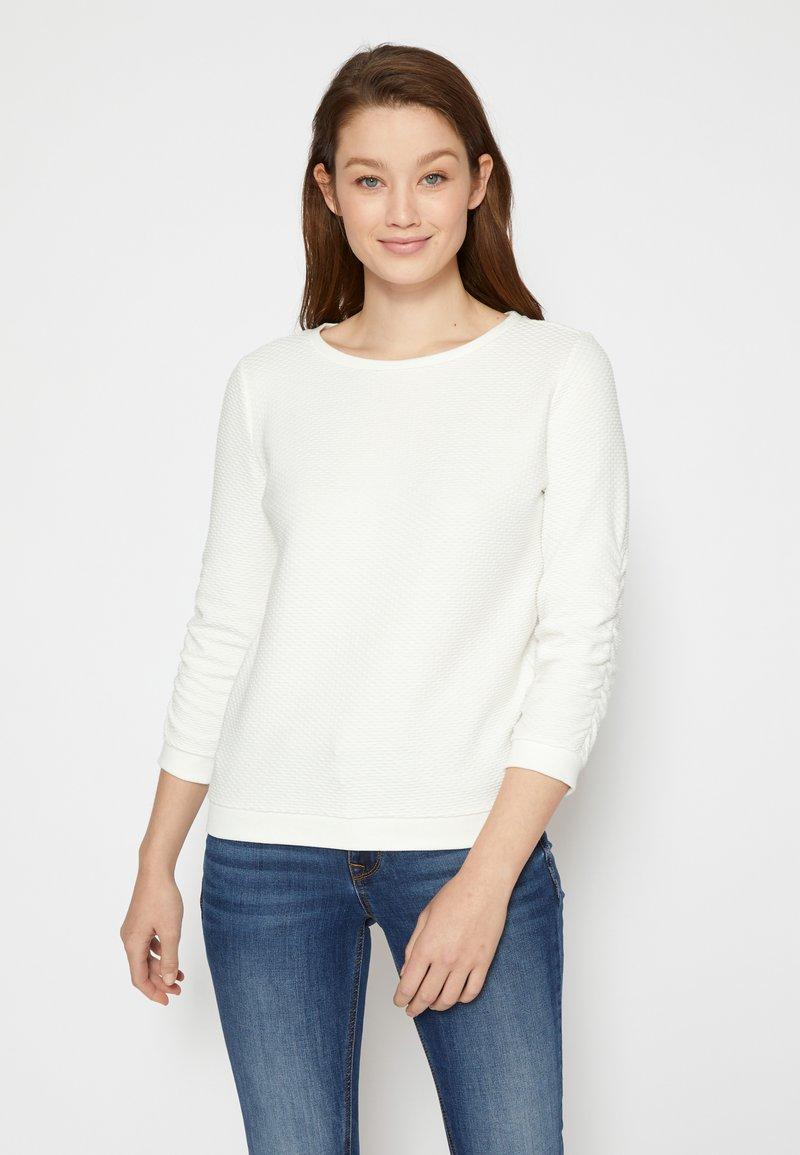 TOM TAILOR DENIM - Sweatshirt - off white
