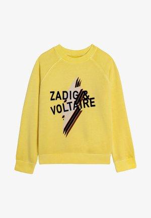 Sweatshirt - jonquille