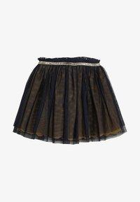 3 Pommes - SKIRT - Veckad kjol - midnight blue - 3