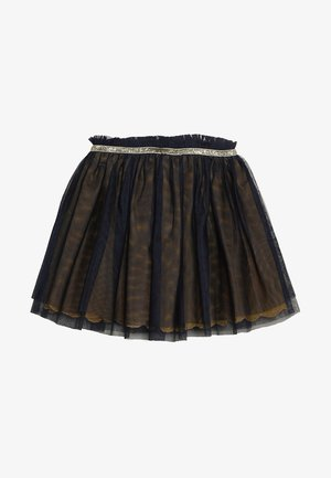 SKIRT - Plisovaná sukně - midnight blue