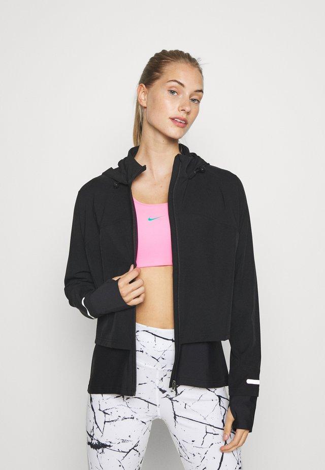 FAST TRACK RUNNING - Sports jacket - black