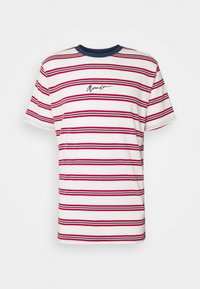 CLASSIC HORIZONTAL STRIPE UNISEX - Print T-shirt - white/red