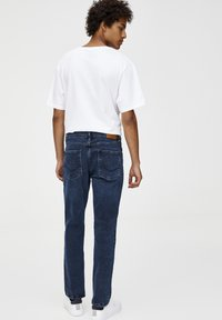 PULL&BEAR - Straight leg jeans - dark-blue denim - 2