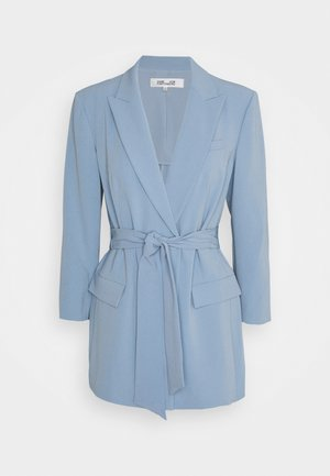 JASMINE - Short coat - lightsteel blue