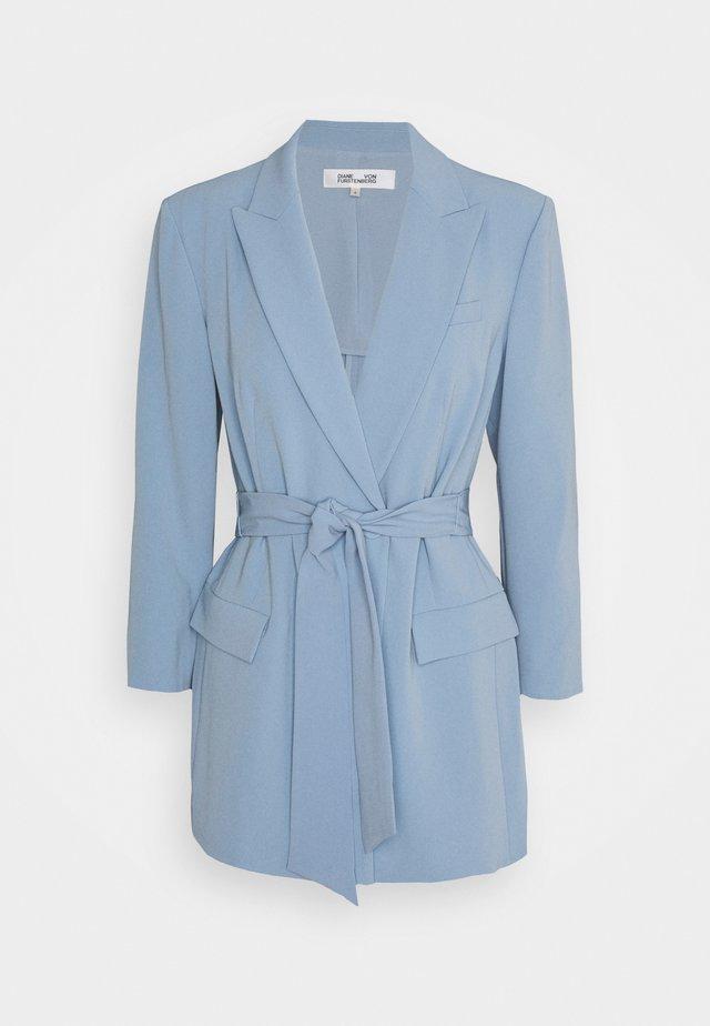 JASMINE - Manteau court - lightsteel blue