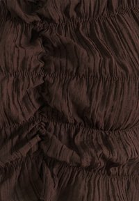 Nly by Nelly - ALL OVER RUCHED - Long sleeved top - brown - 2