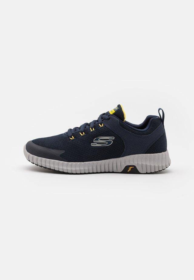 ELITE FLEX PRIME TAKE OVER - Sneakersy niskie - navy/yellow
