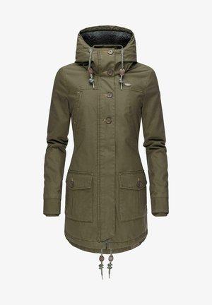 JANE - Winter coat - olive