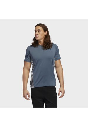 FREELIFT 3-STRIPES T-SHIRT - Camiseta estampada - green