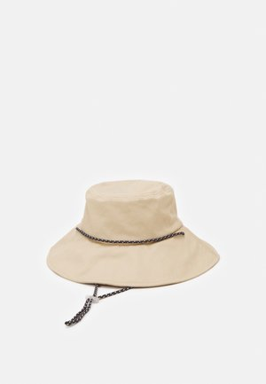 ONLPAMA BUCKET CORD HAT - Klobouk - frosted almond