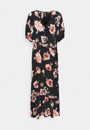 PCRIMMA 2/4 DRESS - Maxi dress - black