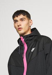 Nike Sportswear - Summer jacket - black/pinksicle - 4