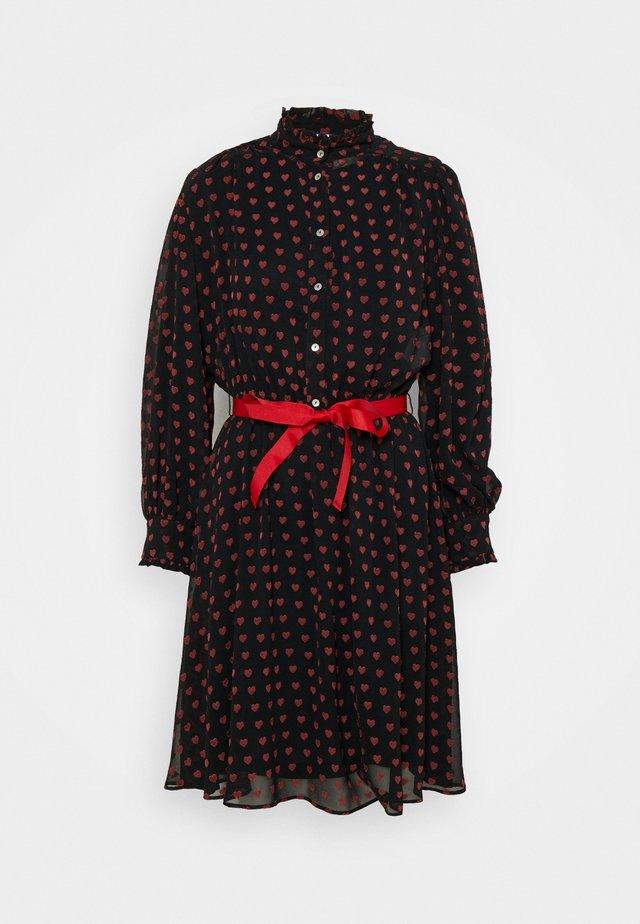 SBARRA - Korte jurk - nero
