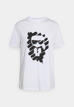 IKONIK GRAFFITI  - T-shirt imprimé - white