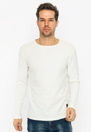 LONG SLEEVE - T-shirt à manches longues - ecru