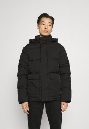 CLEAN PUFFER JACKET - Winter jacket - black