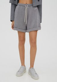 PULL&BEAR - Shorts - grey - 0