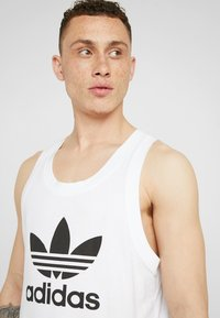 adidas Originals - TREFOIL TANK - Top - white - 5