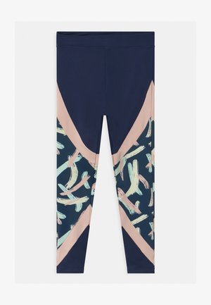 GIRLS BLOCKED - Leggings - navy