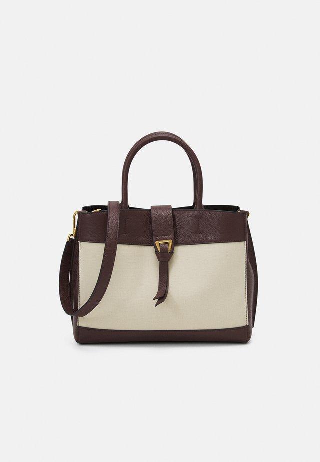 ALBA - Håndtasker - natural/choco