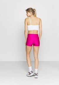 Under Armour - MID RISE SHORTY - Leggings - meteor pink - 2