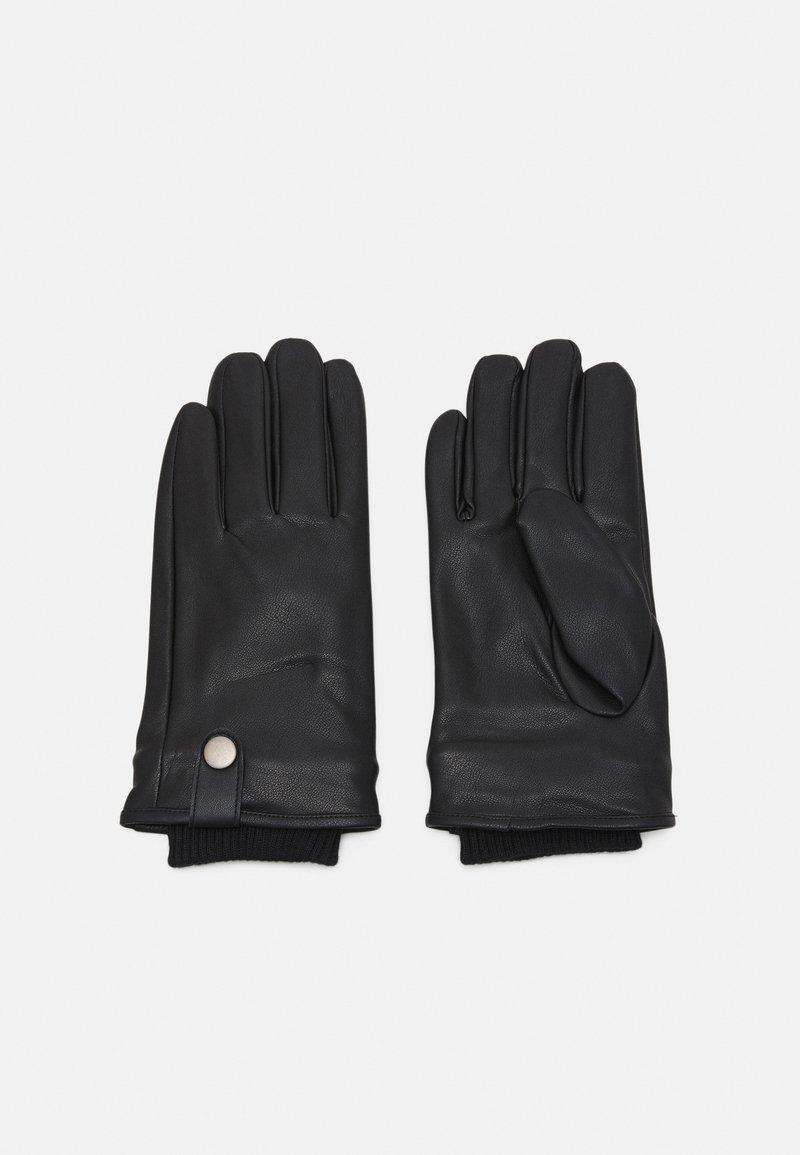 Jack & Jones - JACRICHARD SOLID GLOVES - Gloves - black
