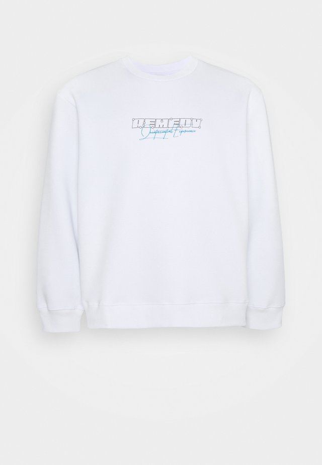 BIG REMEDY PRINT  - Sweater - white