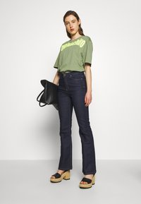 2nd Day - FIONA - Bootcut jeans - dark blue - 1