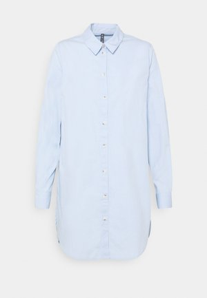 PCNOMA LONG - Button-down blouse - kentucky blue