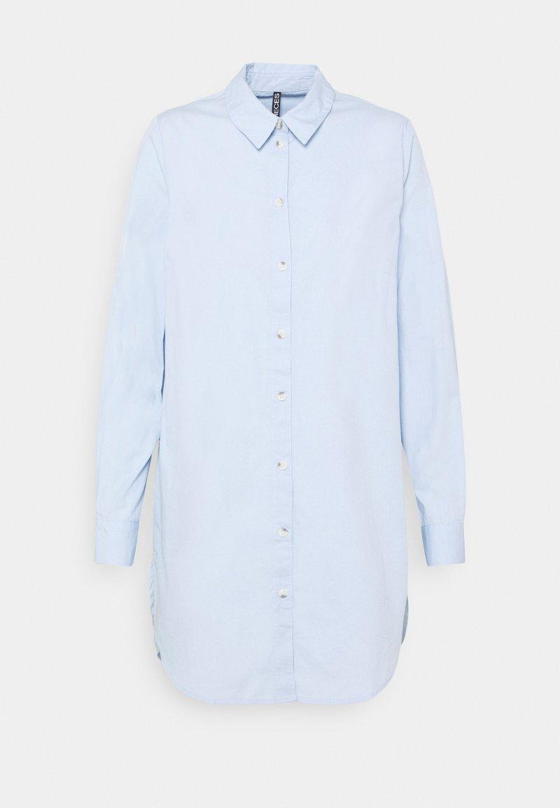 Pieces - PCNOMA LONG - Skjorta - kentucky blue