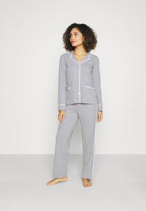 NOTCH COLLAR  - Pyjama set - grey