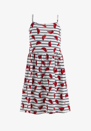 SUMMER - Jersey dress - ecru