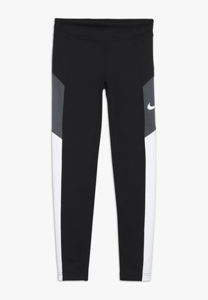 TROPHY - Legging - black/white/dark grey