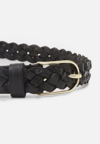 Vanzetti - Braided belt - black/gold-coloured - 2