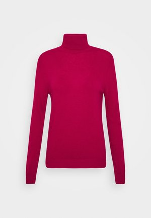 TURTLE NECK - Pullover - burgandy