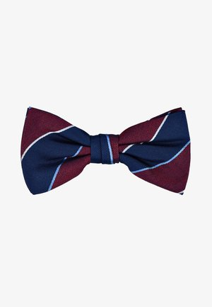 STRIPE BOWTIE - Motýlek - red