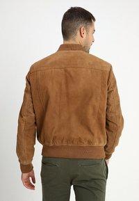 Schott - Kožená bunda - rost - 2