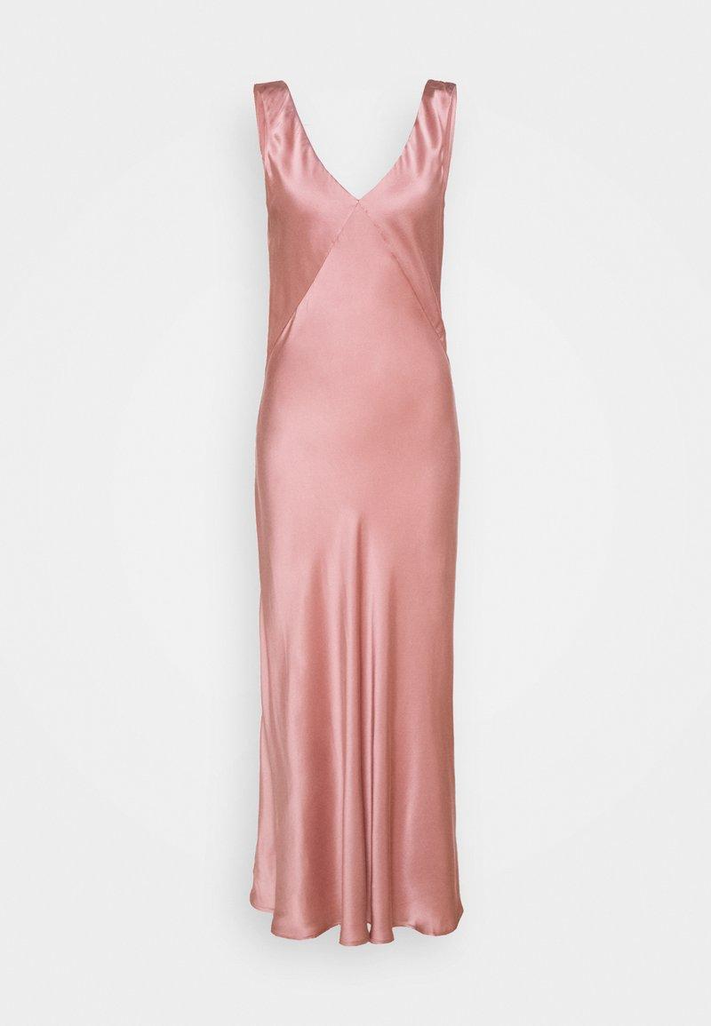 ASCENO - THE DRESS LONG - Chemise de nuit / Nuisette - dusty rose