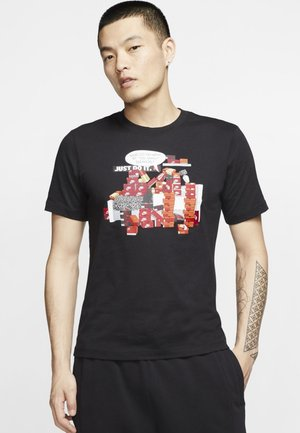 M NSW TEE SNKR CLTR 7 - Print T-shirt - black