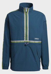 adidas Originals - TAPED ANORAK - Windbreaker - turquoise - 6