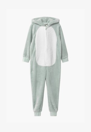 MINI UNICORNANIMAL ONESIE - Pyjamas - light aqua