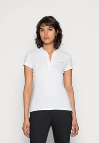 Tommy Hilfiger - HERITAGE SHORT SLEEVE - Polo shirt - classic white - 0