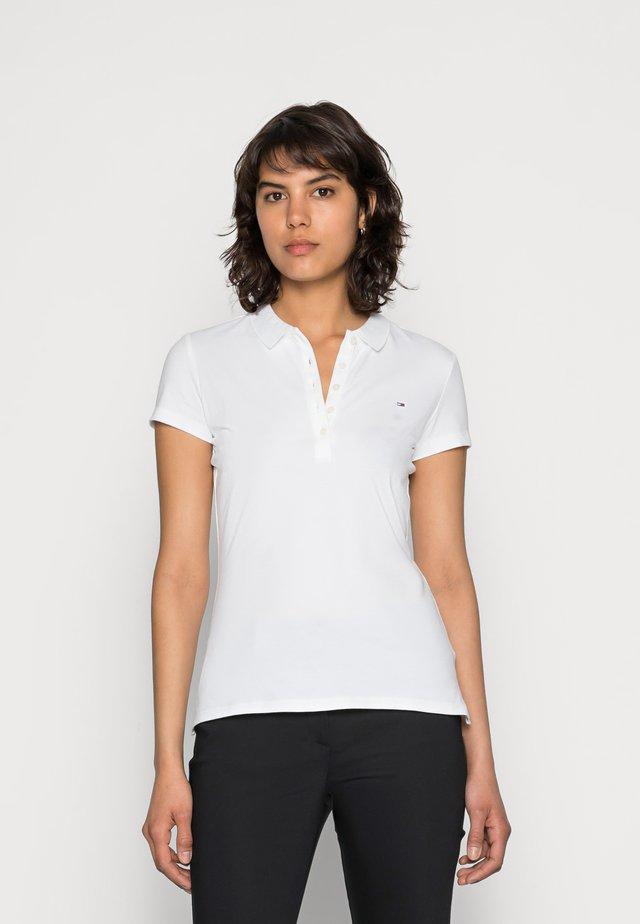 HERITAGE SHORT SLEEVE - Koszulka polo - classic white