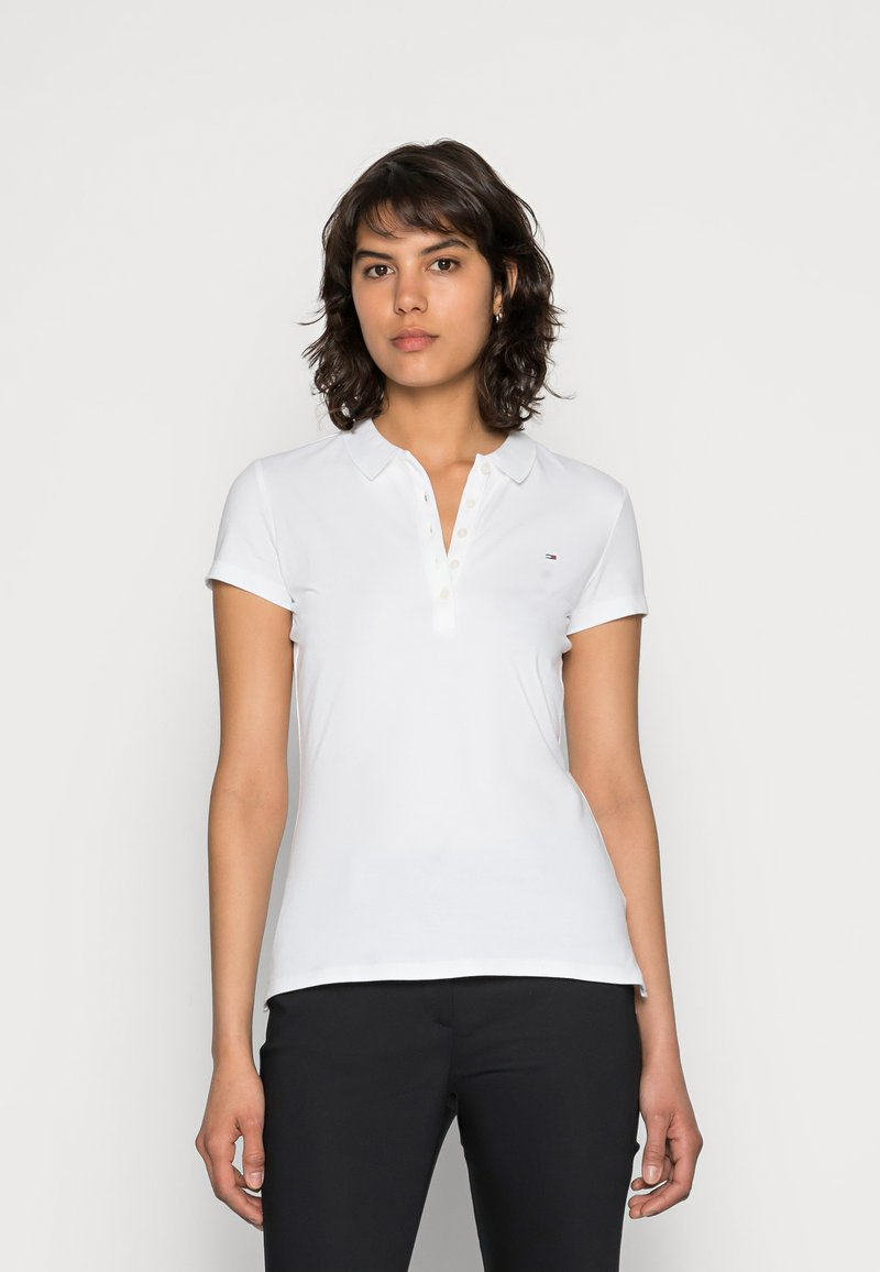 Tommy Hilfiger - HERITAGE SHORT SLEEVE - Polo shirt - classic white