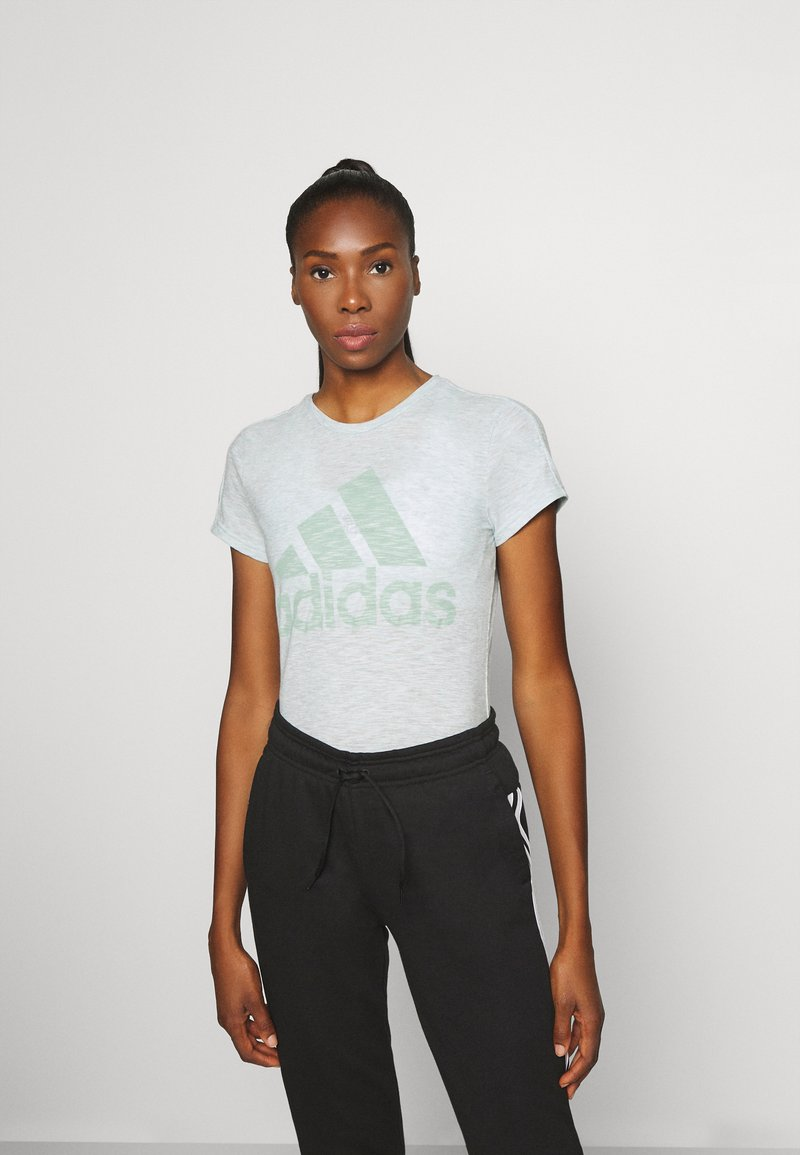 adidas Performance - WINNERS TEE - T-Shirt print - mint