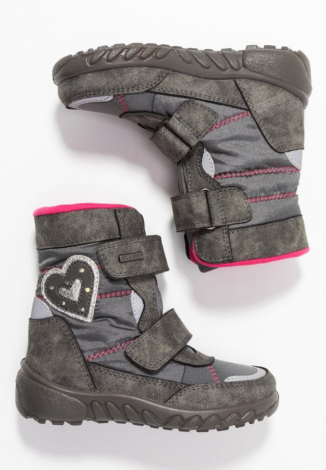 Winter boots - ash/fuchsia
