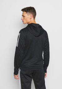adidas Performance - AERO  - Zip-up hoodie - black - 2