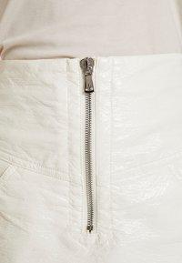 Bec & Bridge - WAX MINI SKIRT - A-line skirt - ivory - 5